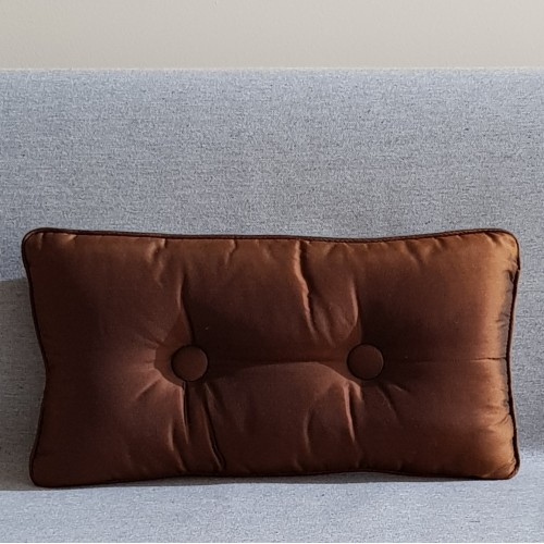 2 Buttoned - rectangular - chocolate