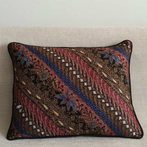Batik Stripes - rectangular - cushion
