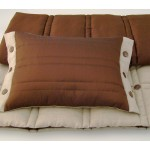 Coco Button bed runner - Chocolate