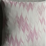 Marbled cushion - small square - lavender