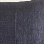Matka Silk 3 Panel - large rectangular - cushion - navy