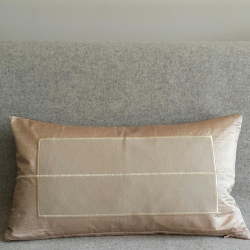 Panel - rectangular - cushion - cream